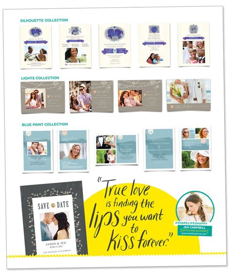 Wedding Invitations Walgreens by Print Your Own Save The Dates At Walgreens Green Wedding
