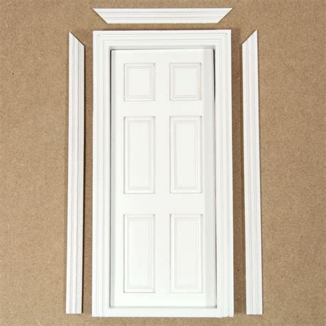 house doors interior interior dolls house door white painted doors and windows bc54 from bromley craft