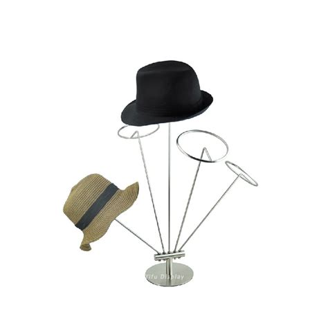 Metal Hat Rack by Free Shipping Metal Hat Display Bracket Hat Stand
