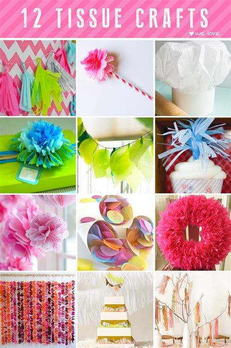 How To Make Tissue Paper Crafts - ruff draft 12 tissue paper crafts we anders ruff