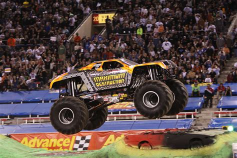 monster jam truck videos lets get loud with monster jam toronto little miss kate
