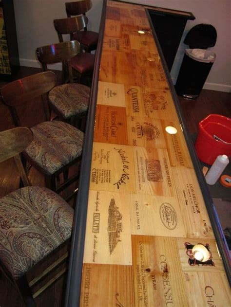 Diy Wood Bar Top by 43 Cool Bar Top Ideas To Realize