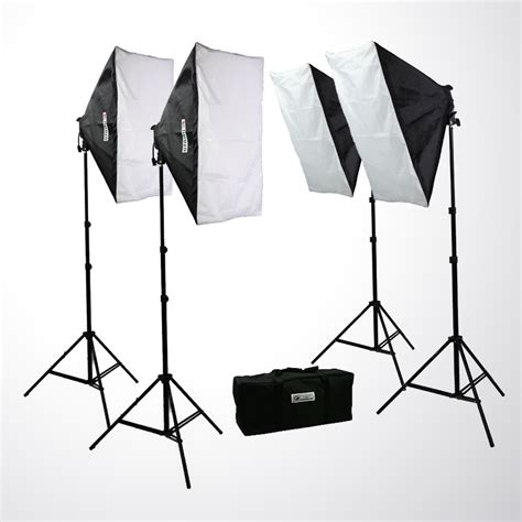 studio lighting equipment for portrait photography 3200 watt video photo studio 4 softbox lights photography
