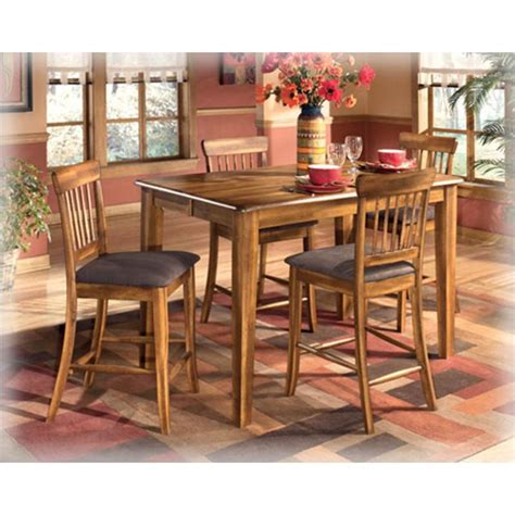 Berringer Dining Table D199 32 Furniture Berringer Counter Height Butterfly Table