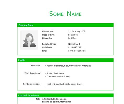 resume template tex tables mimicking office cv layout in tex tex