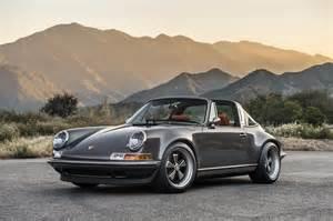 Porsche Singer Price La Premi 232 Re Porsche 911 Targa 4 0 Par Singer Speedguerilla