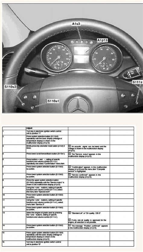 Mercedes Schedule B Service by Mercedes Ml320 Service Intervals
