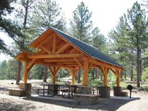 backyard shelter plans 28 best images about hilltop picnic shelter on