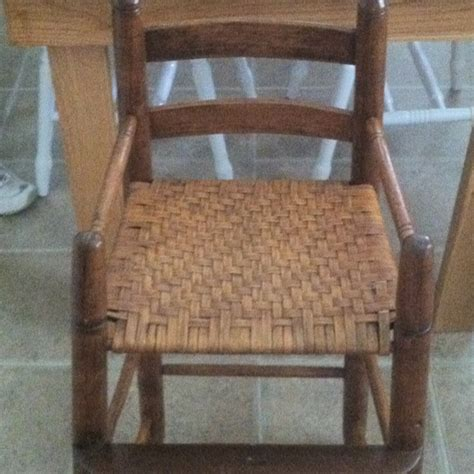 Re Caning Chairs by Re Caned Baby High Chair Recaning