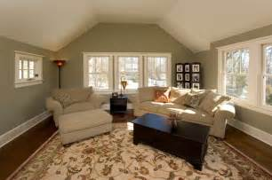Master Suite Sitting Room with Vaulted Ceiling   Craftsman