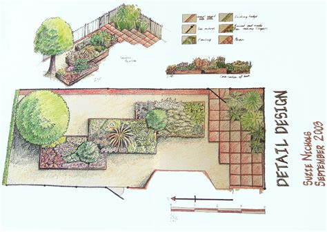 pretty home garden design plans images new also planning