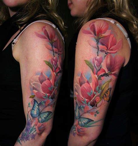 tatuaggi con fiori di loto e farfalle tatuaggi con farfalle e fiori i pi 249 bei disegni foto