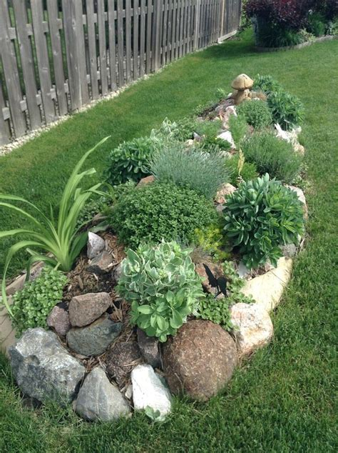 small rock garden design ideas 25 best ideas about rock border on rock