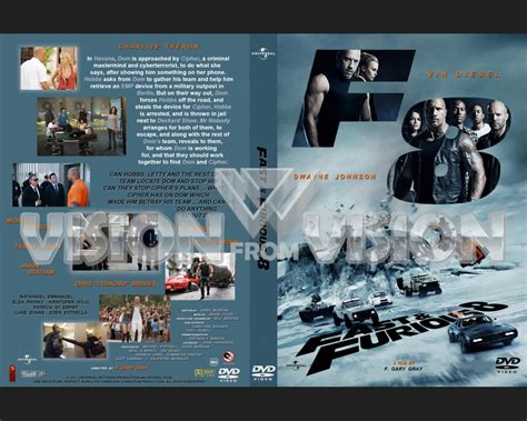fast and furious 8 dvd pin cover copertina fast and furious on pinterest