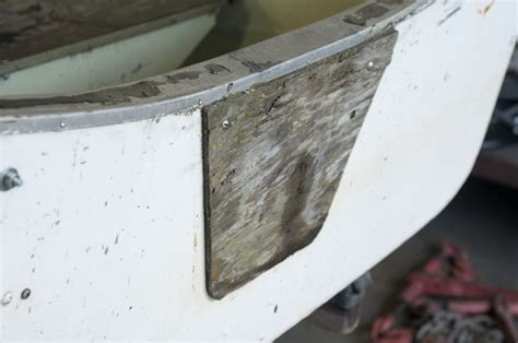 boat motor transom plate how to replace a boat transom board with richlite intectural