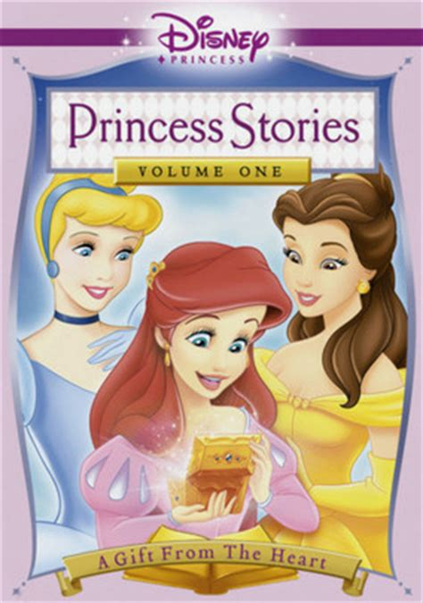 Disney Dvd Princess Stories Vol 2 disney princess stories vol 1 a gift from the