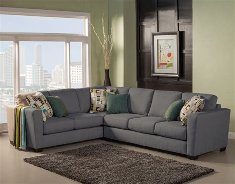 jackson sectional benchley furniture jackson sectional in st grey