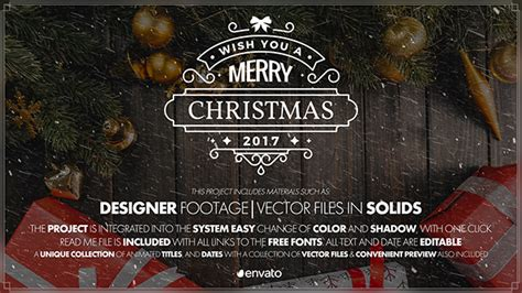 free template after effects merry christmas videohive merry christmas 21014828 187 free after effects