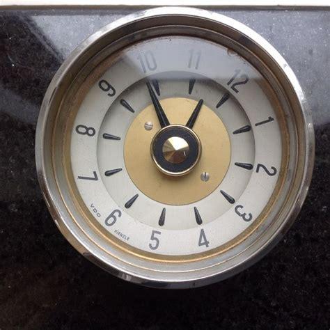 mercedes dashboard clock vdo kienzle dashboard clock for borgward mercedes