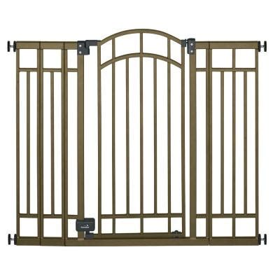 summer infant 36 in swing closed child safety gate 07600