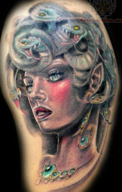 medusa tattoo tattoos mythological creatures pinterest