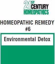 Detox Environmental Chemicals by 21st Century Homeopathics Remedy 6 Environment Detox