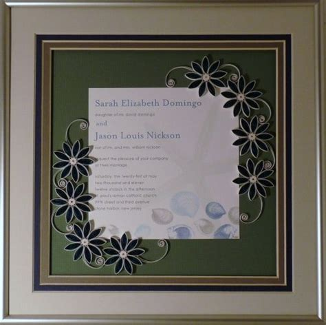 Wedding Invitations Keepsake Ideas by 32 Best Borders Frames Quilled Images On Paper