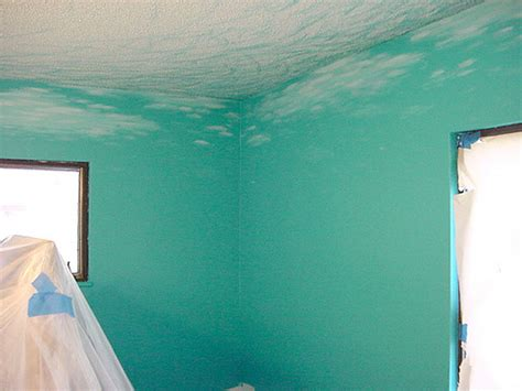 Lori S Mermaid Bedroom 05 Swirls On The Ceiling And