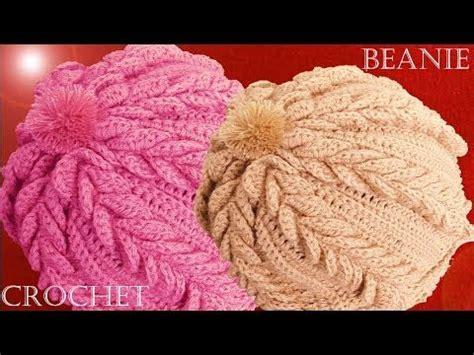 beanie o gorro tejido en crochet doovi 1749 best crochet accessories hats images on pinterest