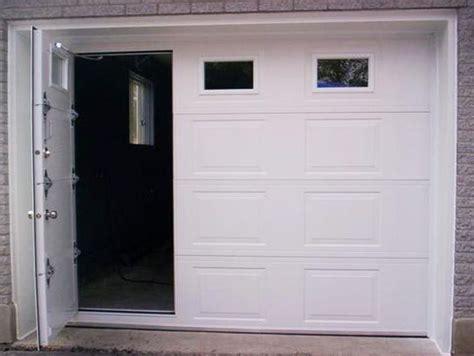 Garage Doors With Man Door Smalltowndjs Com Access Overhead Door