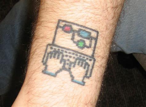 25 computer geek tattoos