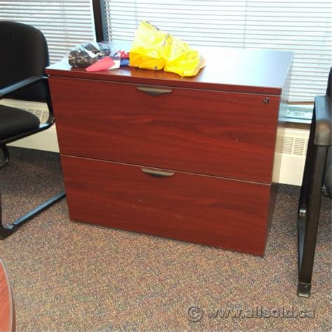 Mahogany Lateral File Cabinet 2 Drawer by Mahogany 36 Quot 2 Drawer Lateral File Cabinet Locking