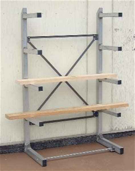free standing lumber storage rack pin by doug edwards on workshop pinterest