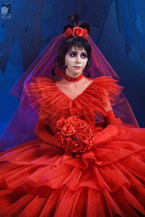 lydia deetz hairstyle lydia deetz red wedding dresses pictures ideas guide to