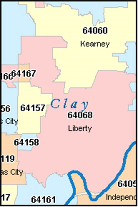 Clay County Missouri Records Clay County Florida Zip Code Map Wallpaper