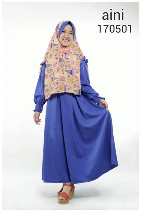 Baju Gamis Perempuan Baju Gamis Anak Perempuan Bahan Baloteli Kerudung