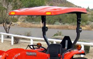 Tractor Canopy For Sale 52 quot x 66 quot fiberglass canopy kit for kubota l amp m series