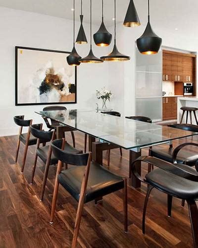 contemporary dining room lighting fixtures make your kitchen look modern with installing contemporary