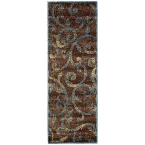 2 x 5 runner rugs nourison expressions multi 2 ft x 5 ft 9 in rug runner 577306 the home depot