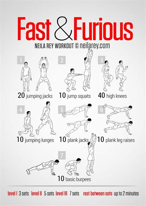 fast and furious all cardio workout health and stuff