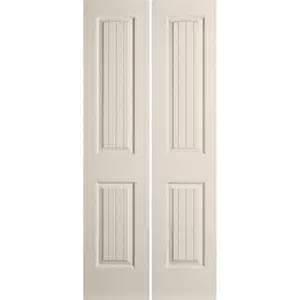 Closet Doors At Lowes Reliabilt 23 1 2 In X 79 In 2 Panel Hollow Composite Interior Bifold Closet Door Lowe S