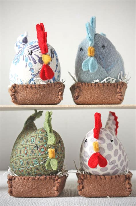 Handmade Pincushions Patterns - 525 best images about galo galinha on