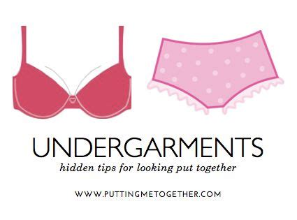 Tips On Looking More Put Together by Undergarments Secrets For Looking Put Together