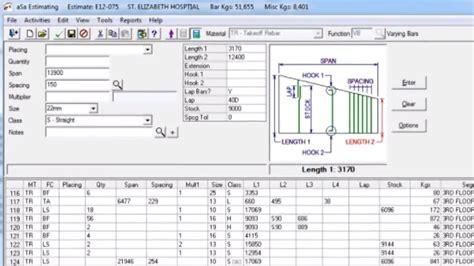 Rebar Estimating by Software For Reinforcement Estimation Estimating