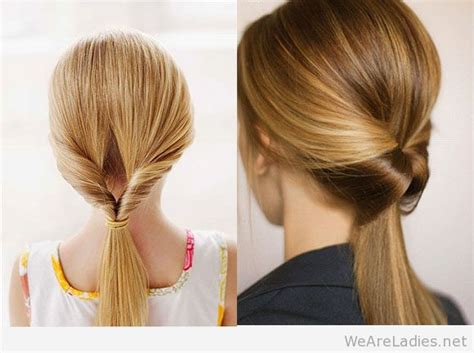 twist and ponytail hairstyles classy twisted ponytails