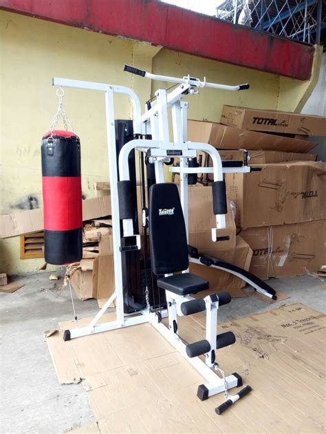 Alat Olahraga Multi Station Home 3 Sisi 75 Kg With Sandsack home tiga sisi with sit up bench istanamurah