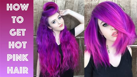 how to get pink color out of hair how to get pink hair