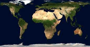 Undistorted World Map by Finally An Undistorted Map Showing The True Size Of The
