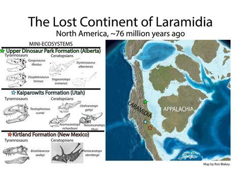 The Bird The Lost Continent the lost continent of laramidia paleontology world