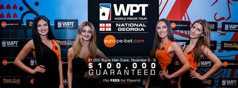 europe bet room rake free 100 000 guaranteed europe bet wpt national event returns to tbilisi